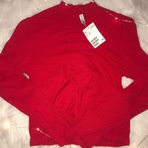 H&M Red Long Sleeve